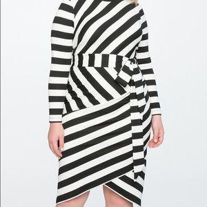 ELOQUII long sleeve bodycon dress NWT